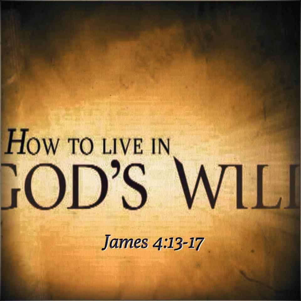 Living by God's Will